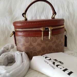 Coach Signature Trail Crossbody Bag, NWT